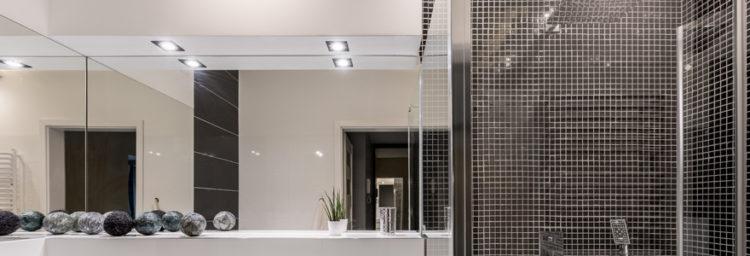 panneau de douche LED